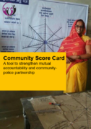 Front cover of the Nepal community score card publication