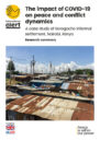 Front cover of report, showing an image of Korogocho informal settlement.