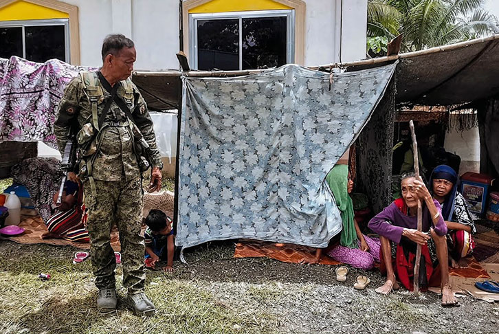 A still from the Philippines Conflict Alert video
