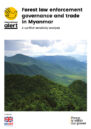 Front cover with photo of forests and mountains