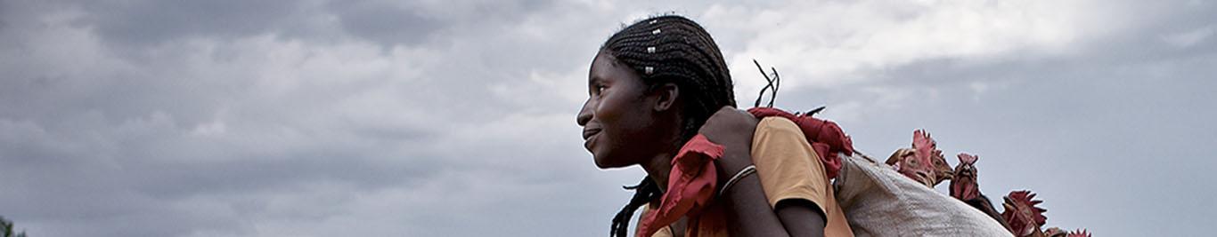 Cross-border woman trader in DRC