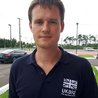 Jonathan Stone, Deputy Head, Climate Adaptation Department at the Foreign, Commonwealth and Development Office (FCDO)