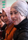 Young people take part in a training about human rights in Kyrgyzstan