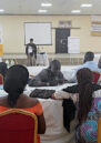 Alert Nigeria team holding stakeholder consultations as part of the Principles for Peace (P4P) initiative