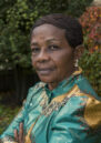 A Congolese woman with an earring