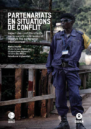 French front cover with photo of a border official on a bridge between DRC and Rwanda.